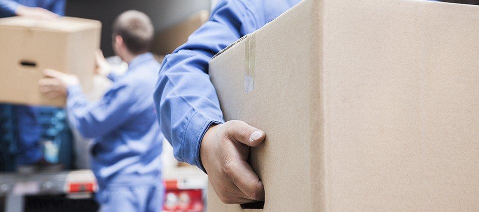 moving a carton box