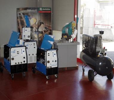 forniture industriali, prodotti per industrie, vendita compressori