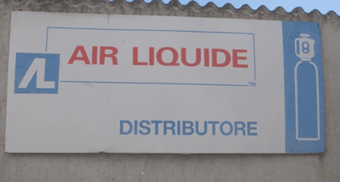 Distributore Air Liquide
