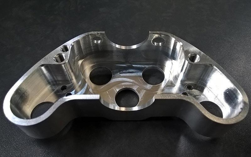 Componenti in alluminio su misura