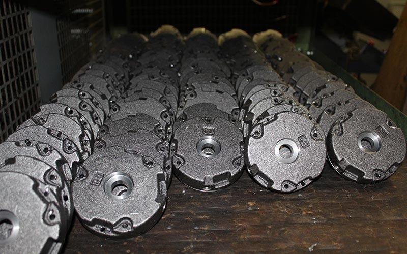 Componenti in acciaio