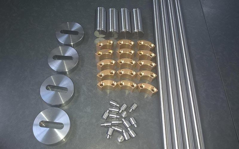 Componenti in acciaio su misura
