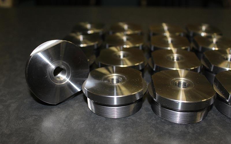 Lavorazione componenti in acciaio