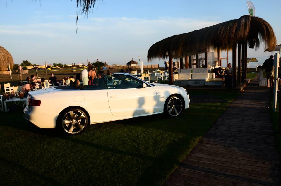 Audi parcheggiata