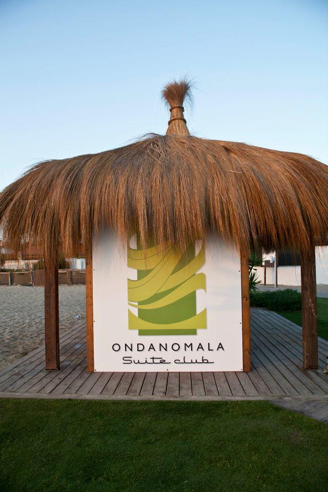 Gazebo con logo Ondanomala