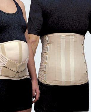 corsetto lombosacrale semirigido