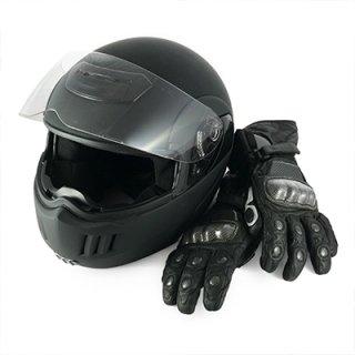 casco e guanti