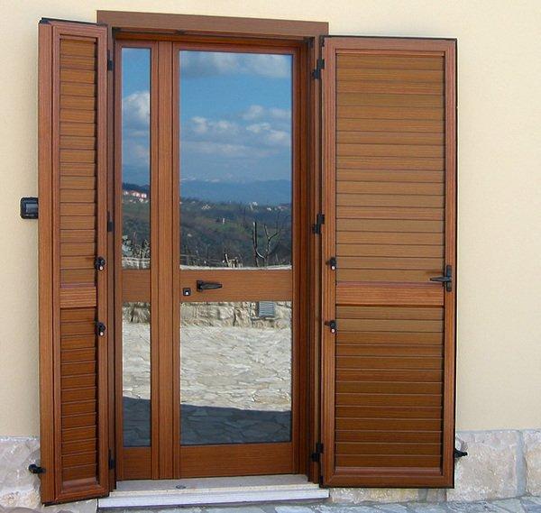 Finestre in legno alluminio roma roberto pala - Infissi finestre roma ...