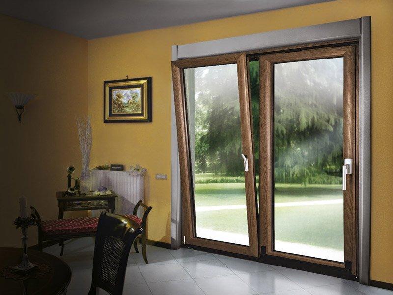 Finestre in legno alluminio roma roberto pala - Finestre in alluminio roma ...