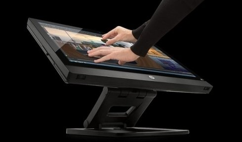 Monitor touch HP