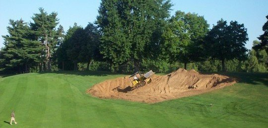 bunker drainage