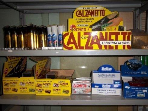 prodotti calzanetto, prodotti per la pulizia del cuoio
