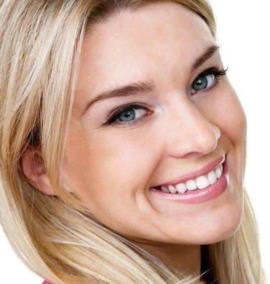 Woman Smiling, Restoration Dentistry in Geneva NY