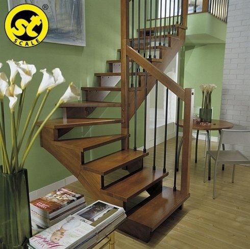 scala legno palermo, scala personalizzata palermo