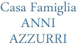 CASA FAMIGLIA ANNI AZZURRI - LOGO