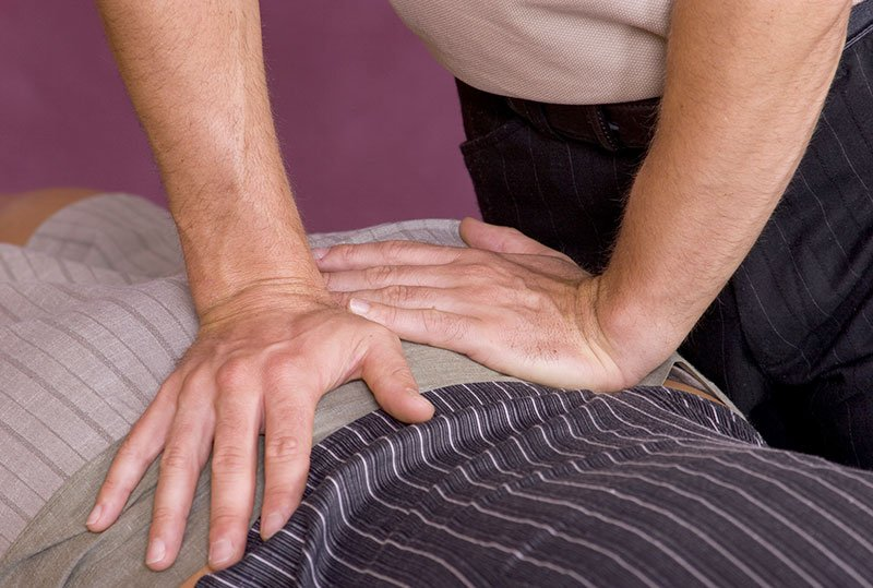 Chiropractic adjustment in St. Peters