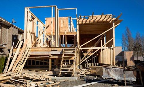 costruzione stabile in legno