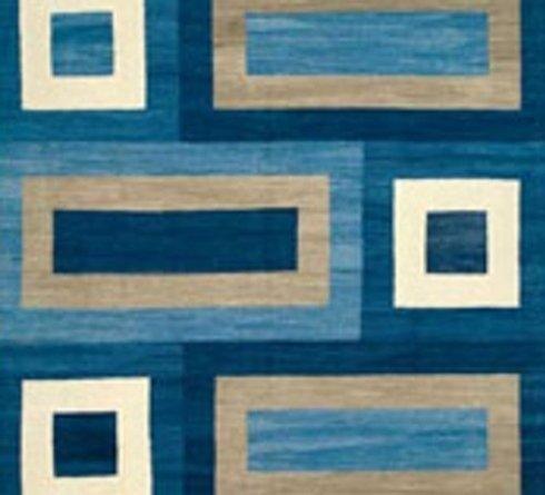 tappeto azzurro, tappeti di design, tappeti stile moderno