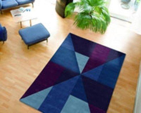 tappeto blu, tappeti di marca, tende e tappeti