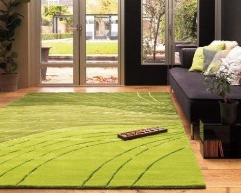 tappeti in fibra naturale, tappeto verde, tappeti in microfibra