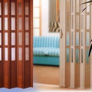 porte a soffietto su misura, montaggio porte a soffietto, realizzazione porte a soffietto