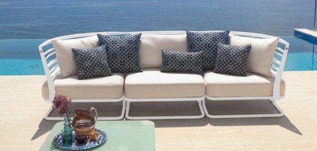 Poltrone e divani per esterni salerno arredo giardino pecoraro - Divano per esterni ...