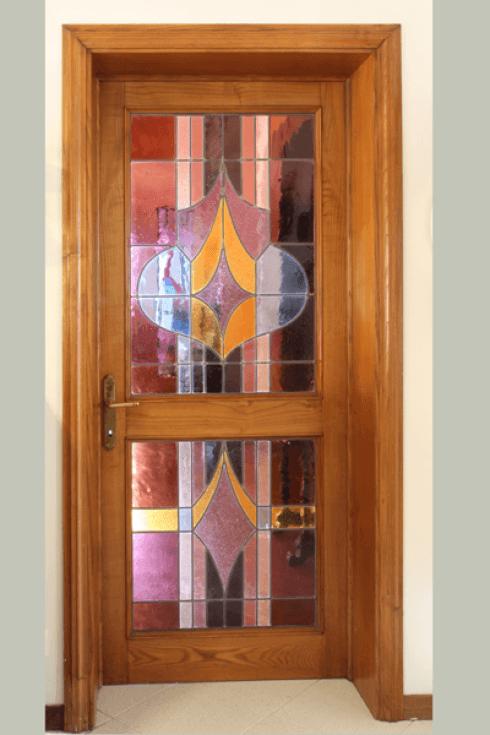 Vetri per porte bibbiena arezzo vetreria filippi - Porta interna vetro ...