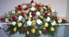 addobbi funebri,fiori cimiteriali,fiori per funerali,