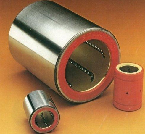 Manicotti a sfere per il moto lineare, misure metriche o in pollici