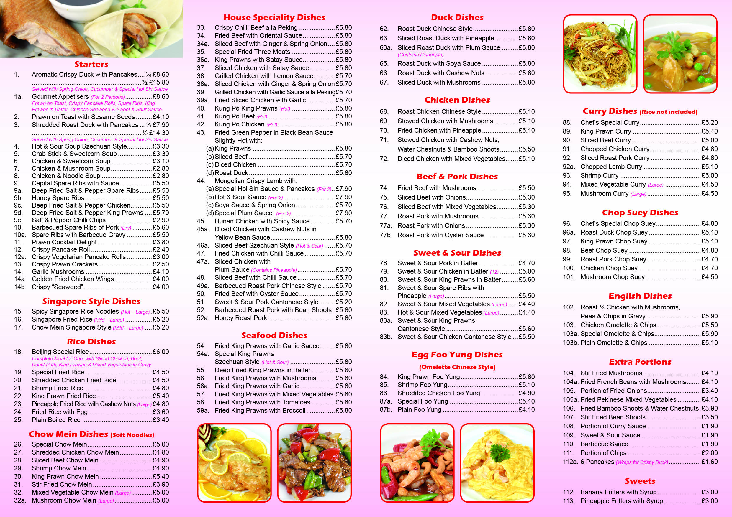 To place an order on this web site please call autos post for Cinese menu