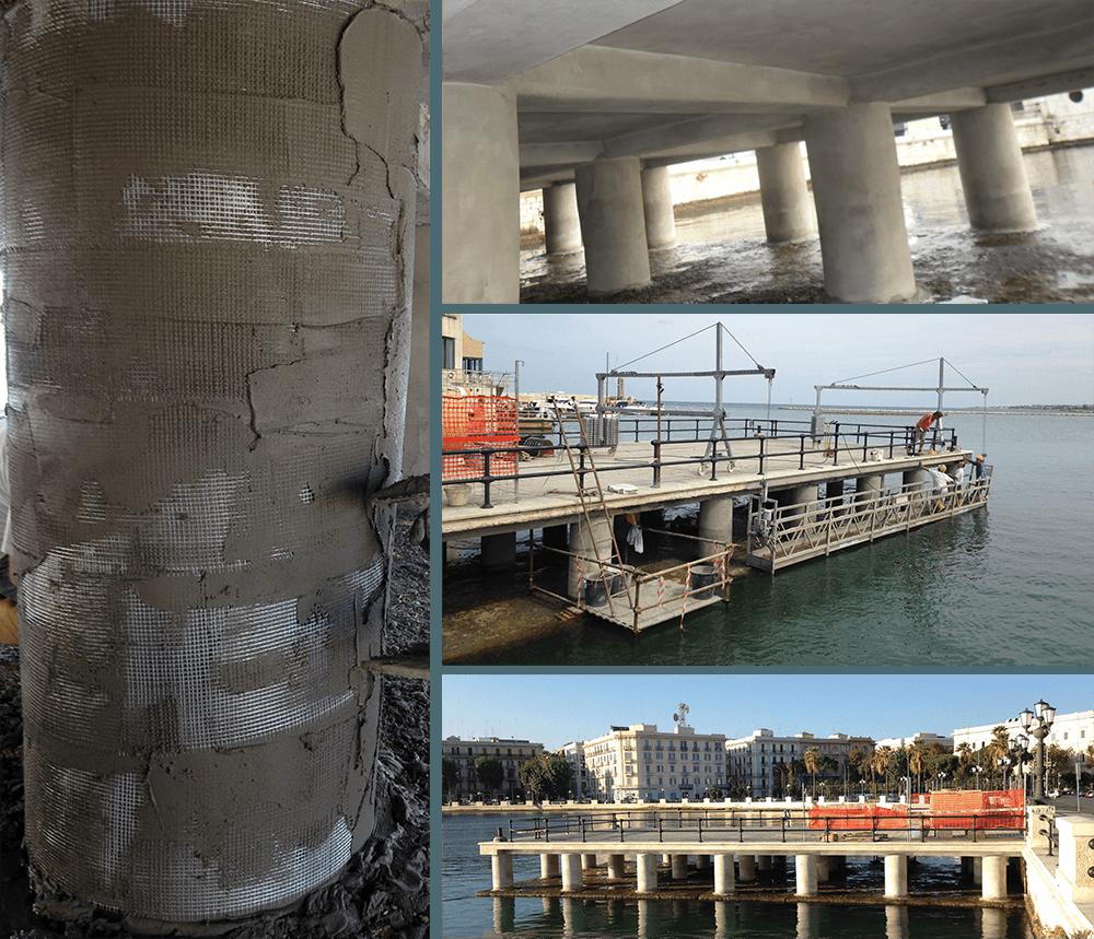 Restauro e risanamento conservativo - Molo San Nicola