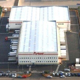 edificio Artoni, edifici industriali, capannoni industriali