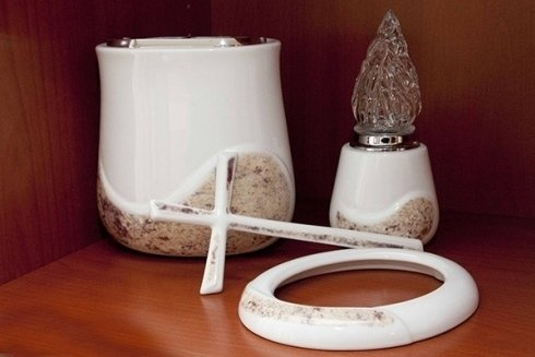Arte funeraria in ceramica.