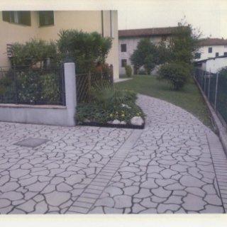 pavimentazione cortile