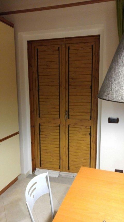 Porte in alluminio effetto legno