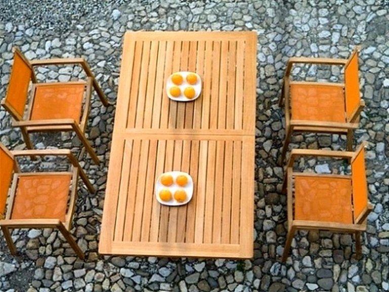 Mobili da giardino bergamo rota legnami - Mobili da giardino in teak ...