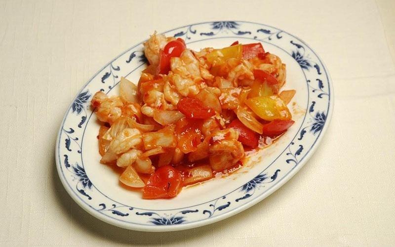 gamberi salsa chili