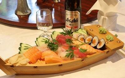 sushi sashimi misto