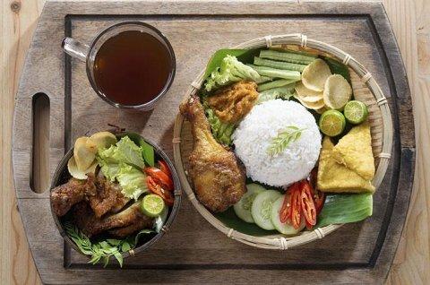 menu indonesiano