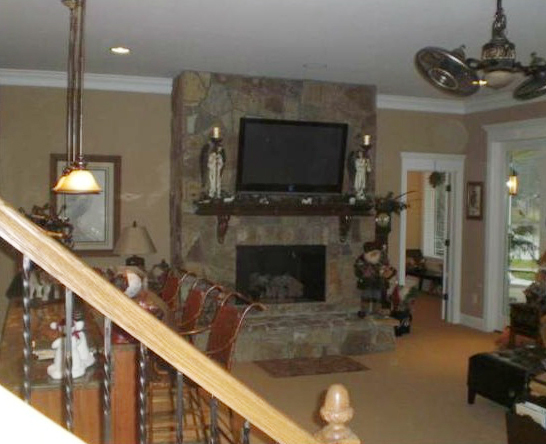 remodeled room in Mooresville