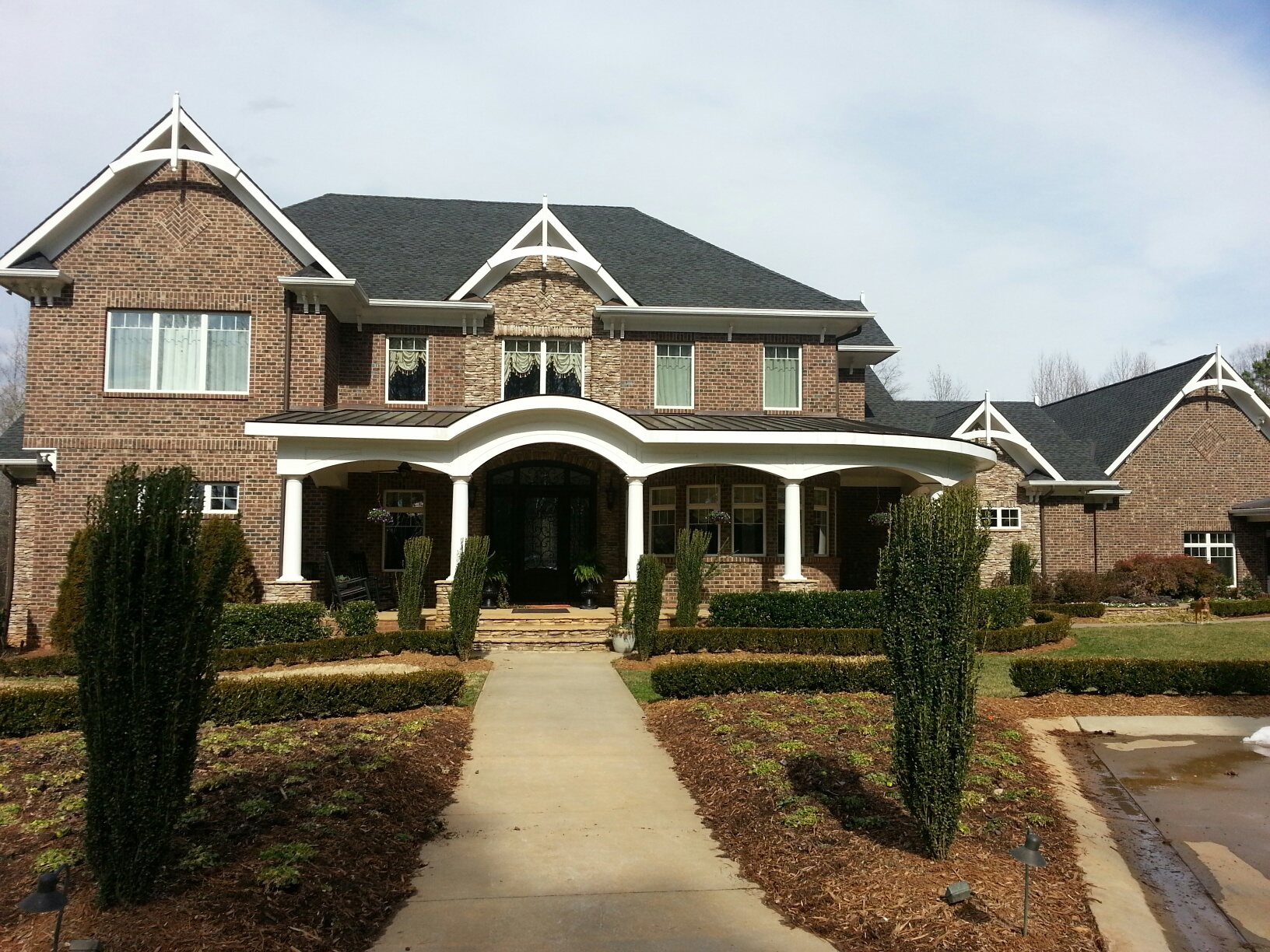Custom home built in Mooresville, NC