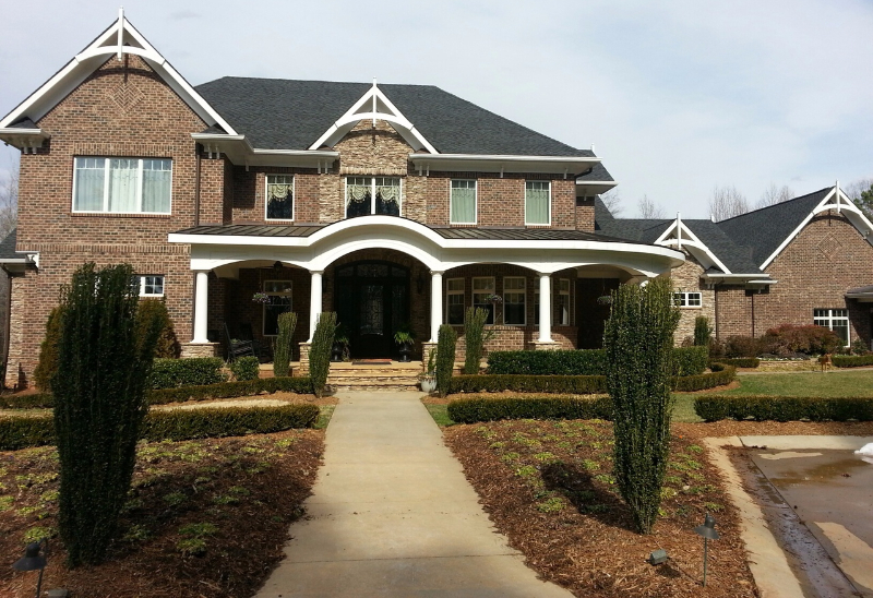 Home built by our home remodeling in Mooresville, NC