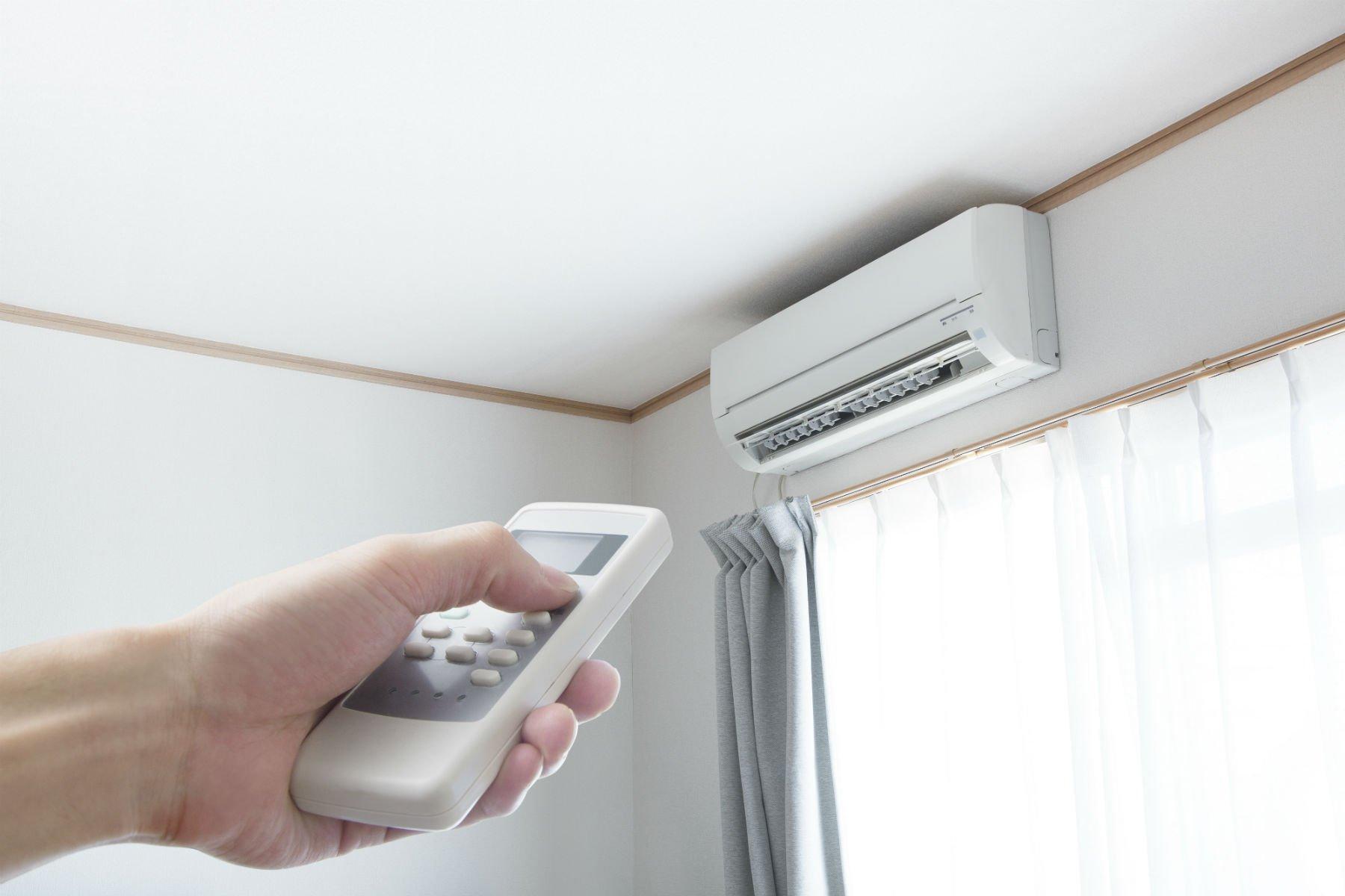Climatizzatore e telecomando