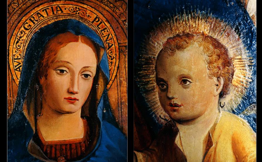 Trittico G. Barbagelata - Albenga - Prima del restauro