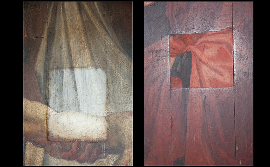 Cappella di San Rocco - Cengio - Saggi di pulitura
