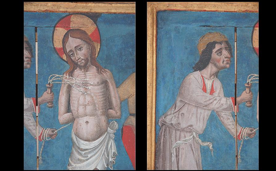Flagellazione di Cristo - Oratorio di San Dalmazio - Lavagnola - Savona - Restauro ultimato