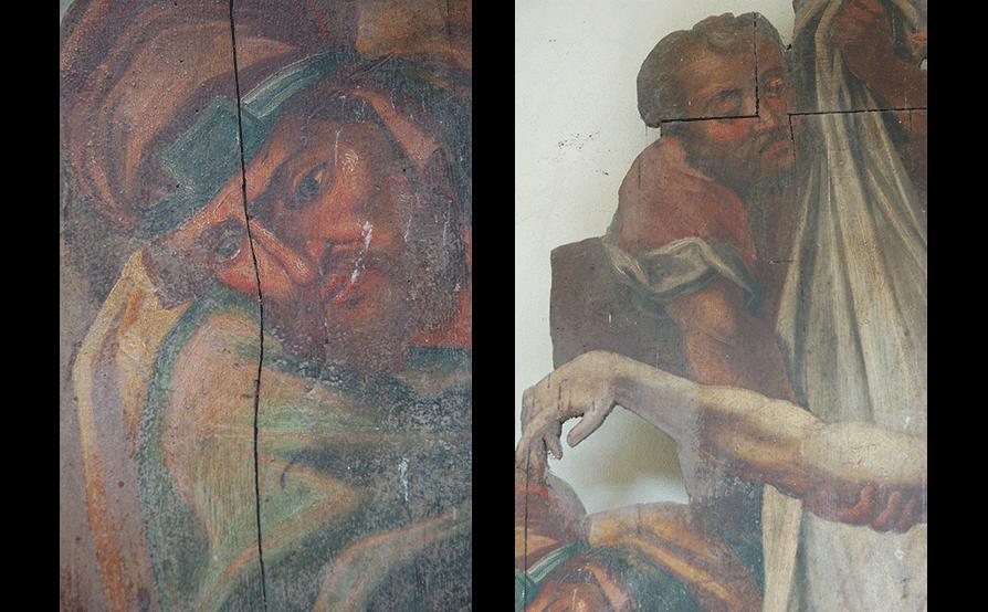 Cappella di San Rocco - Cengio - Prima del restauro