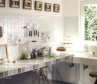 cucine, lavelli di ceramica, pavimenti, rivestimenti