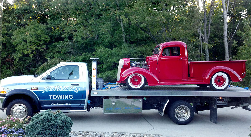 vehicle towing Cincinnati, Ohio