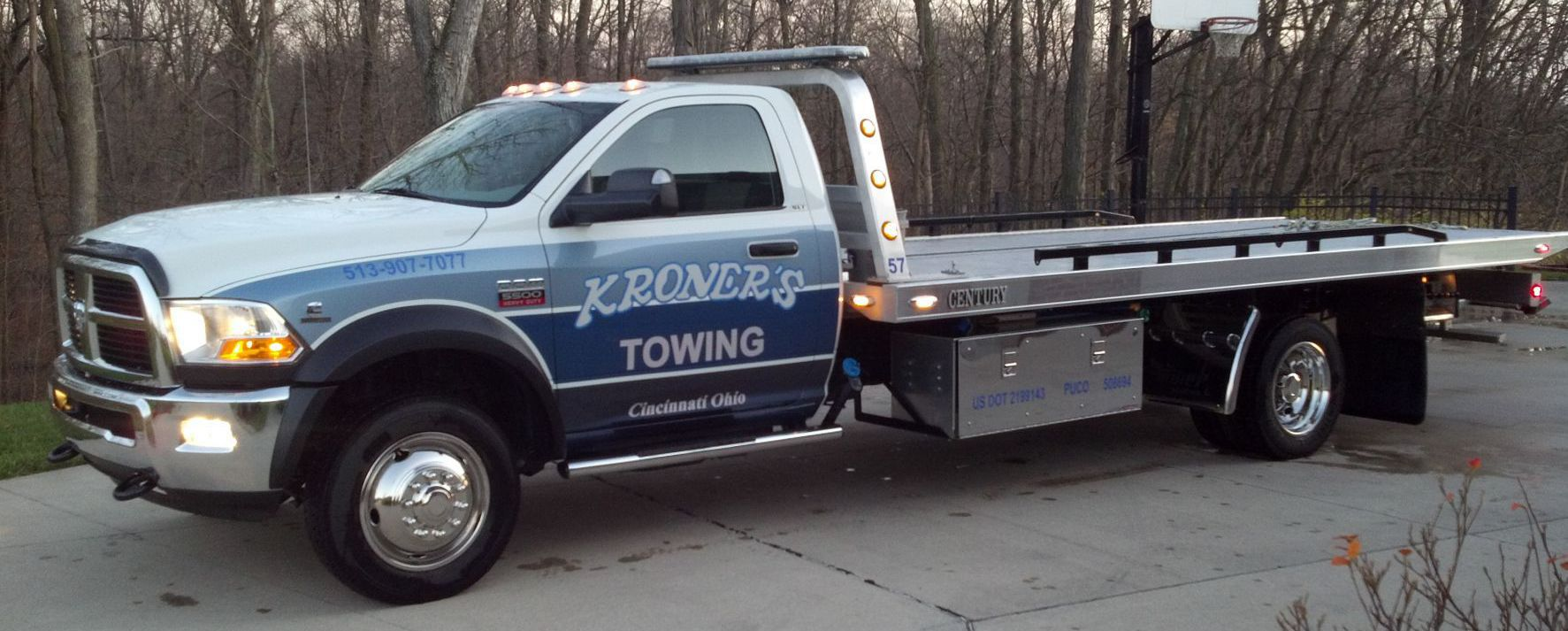 towing service in Cincinnati, OH
